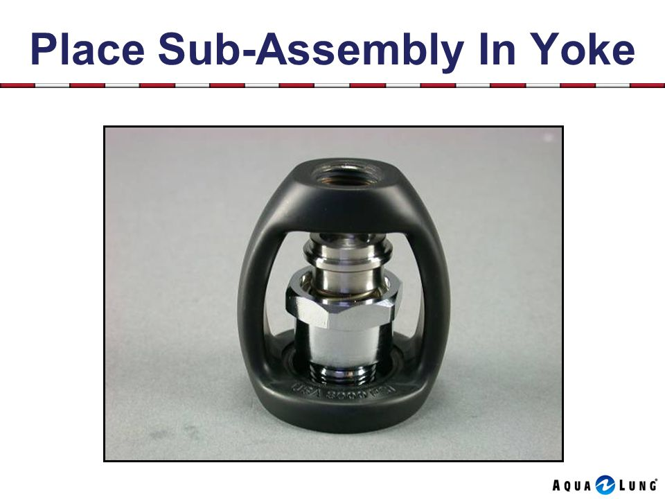 Place Sub-Assembly In Yoke