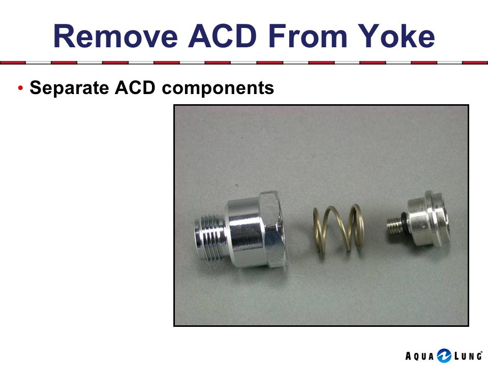 Remove ACD From Yoke Separate ACD components