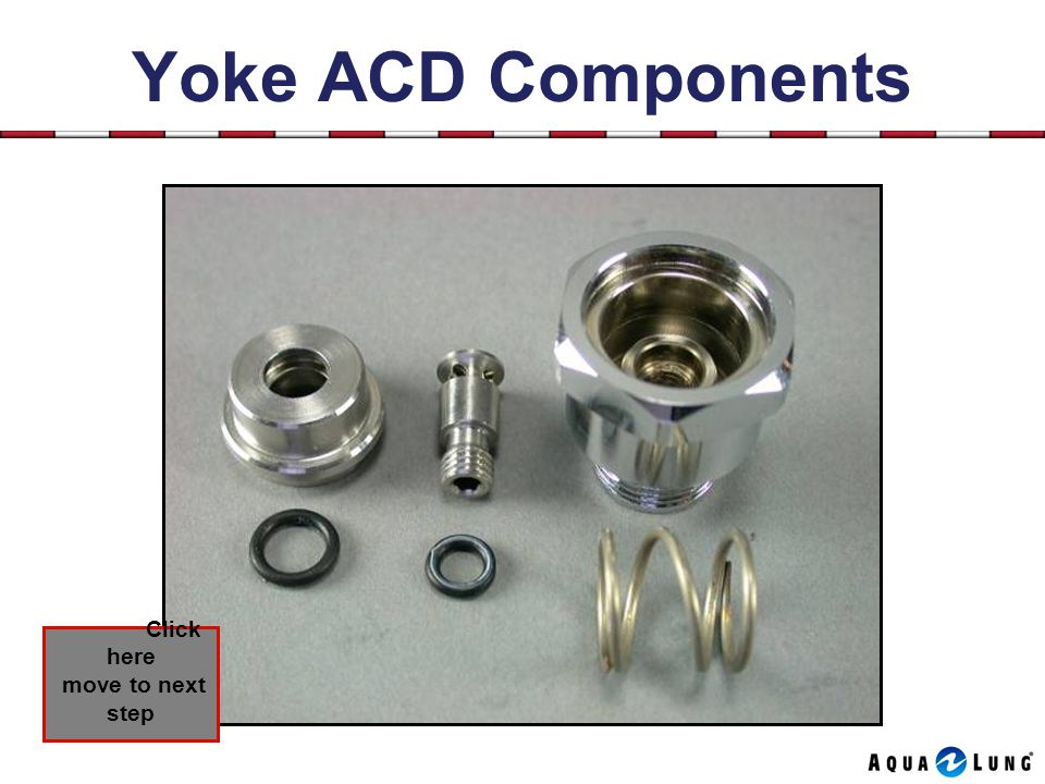 Yoke ACD Components Click here move to next step