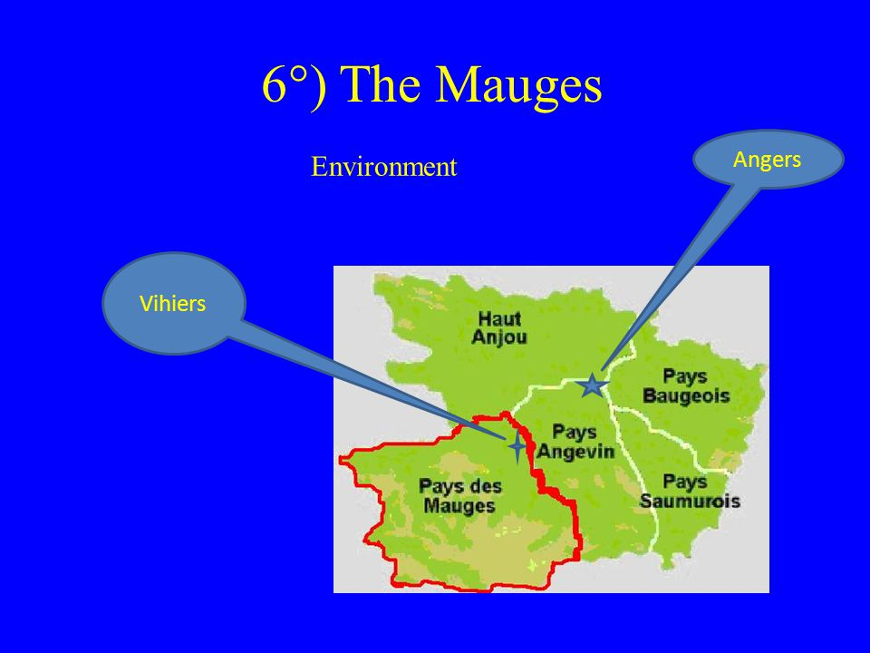 6°) The Mauges Environment Angers Vihiers
