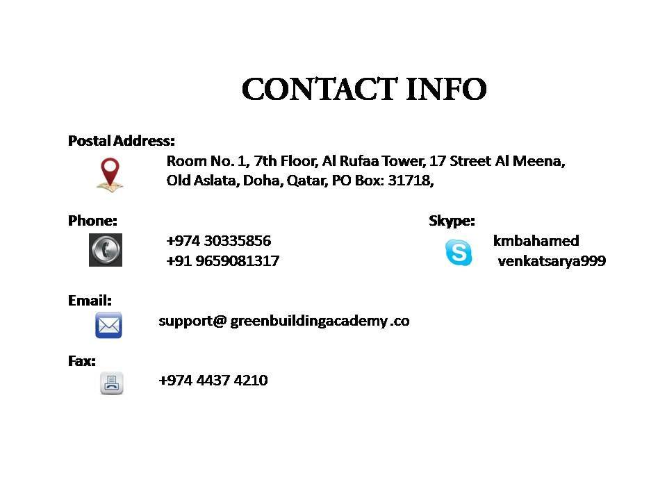 Igbc Ap Exam Training In Qatar Ppt Download