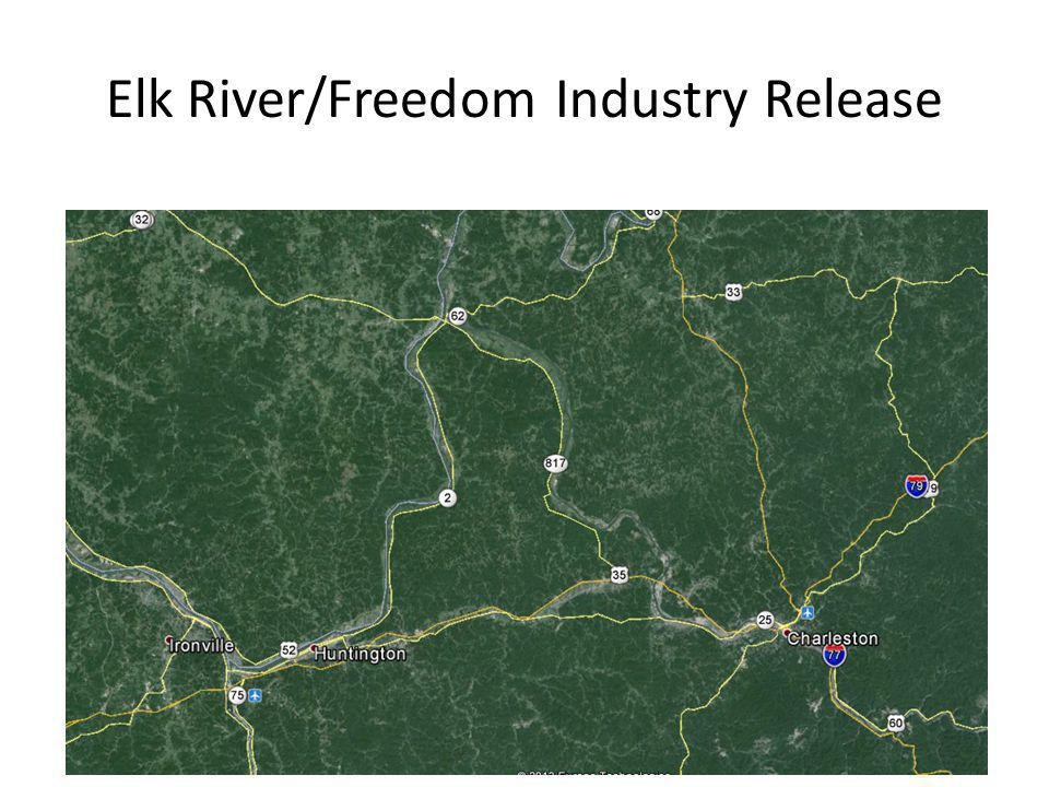 Elk River/Freedom Industry Release