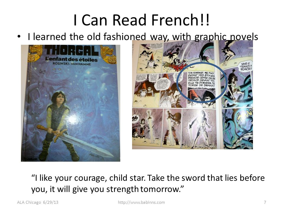 I Can Read French!.