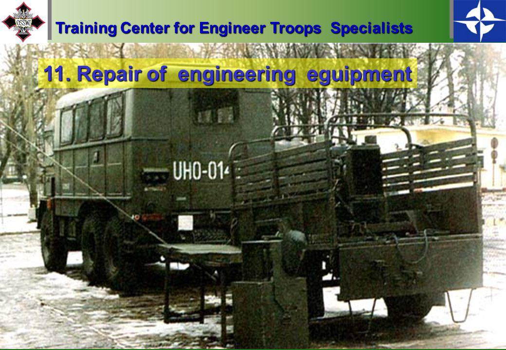 21 10. Operation of field power plants Training Center for Engineer Troops Specialists