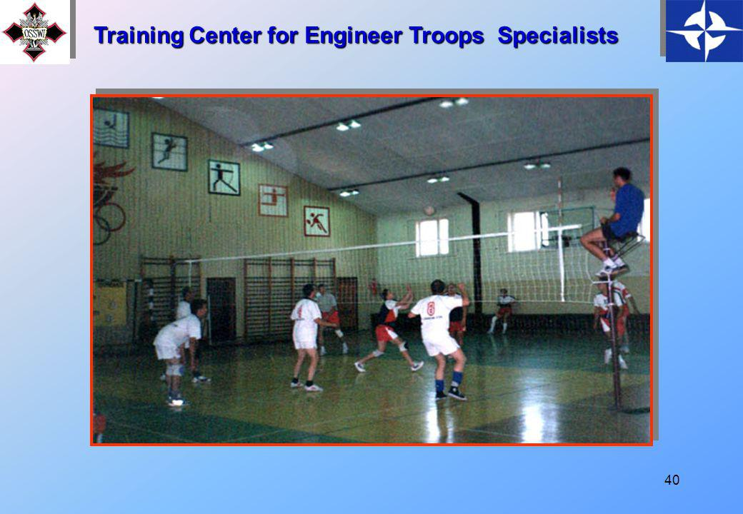 39 Training Center for Engineer Troops Specialists