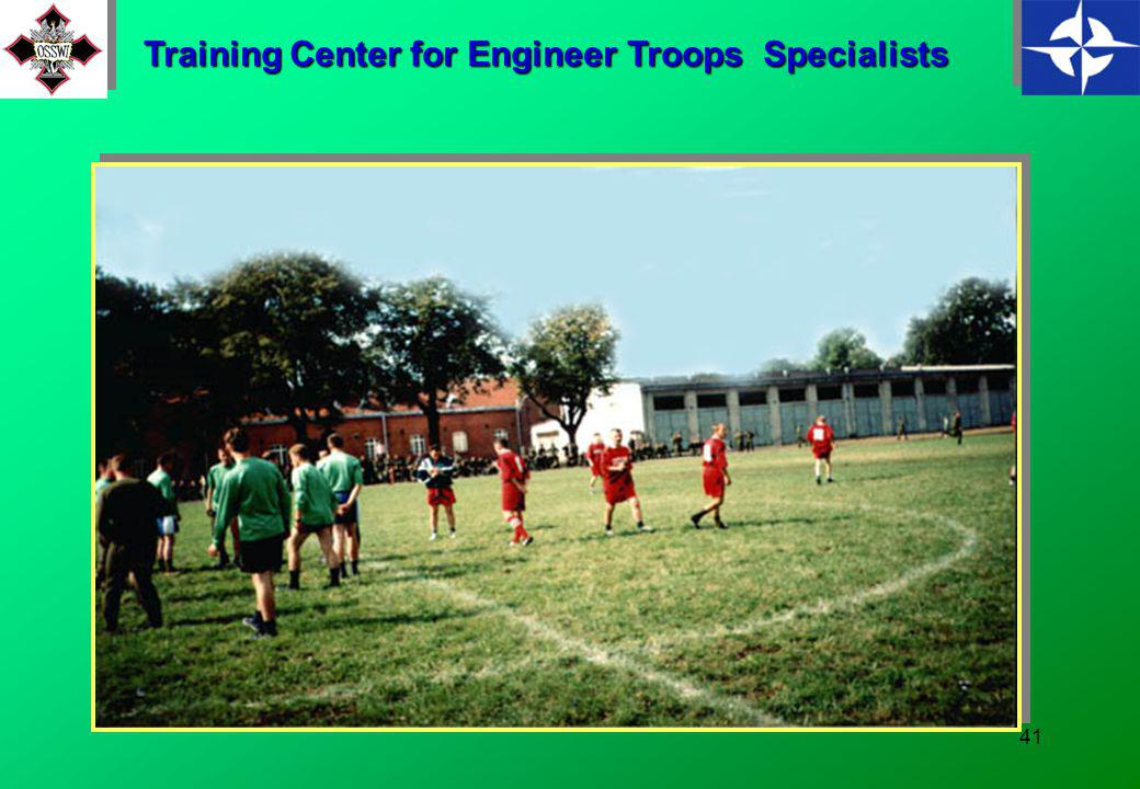 40 Training Center for Engineer Troops Specialists