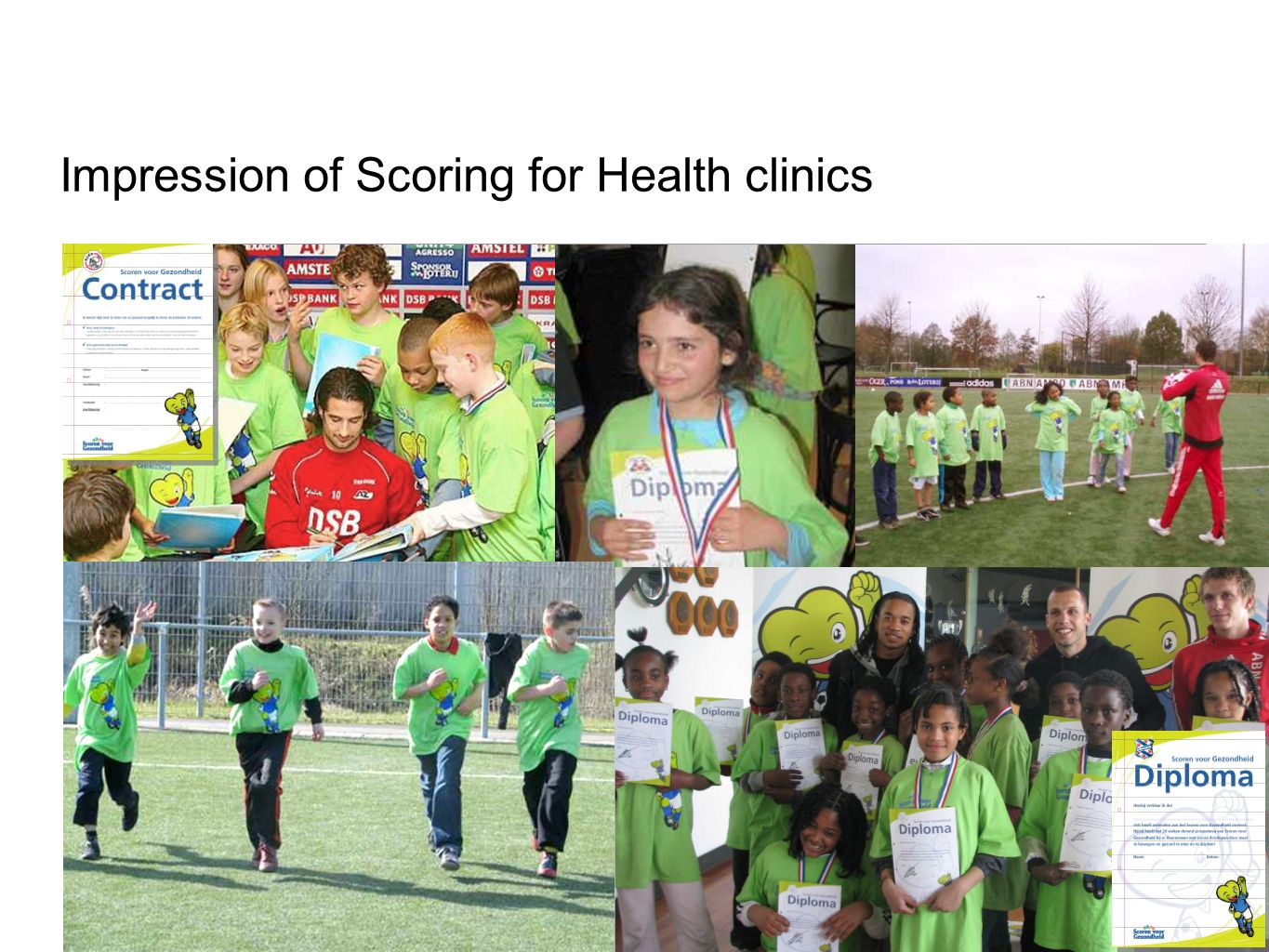 Impression of Scoring for Health clinics