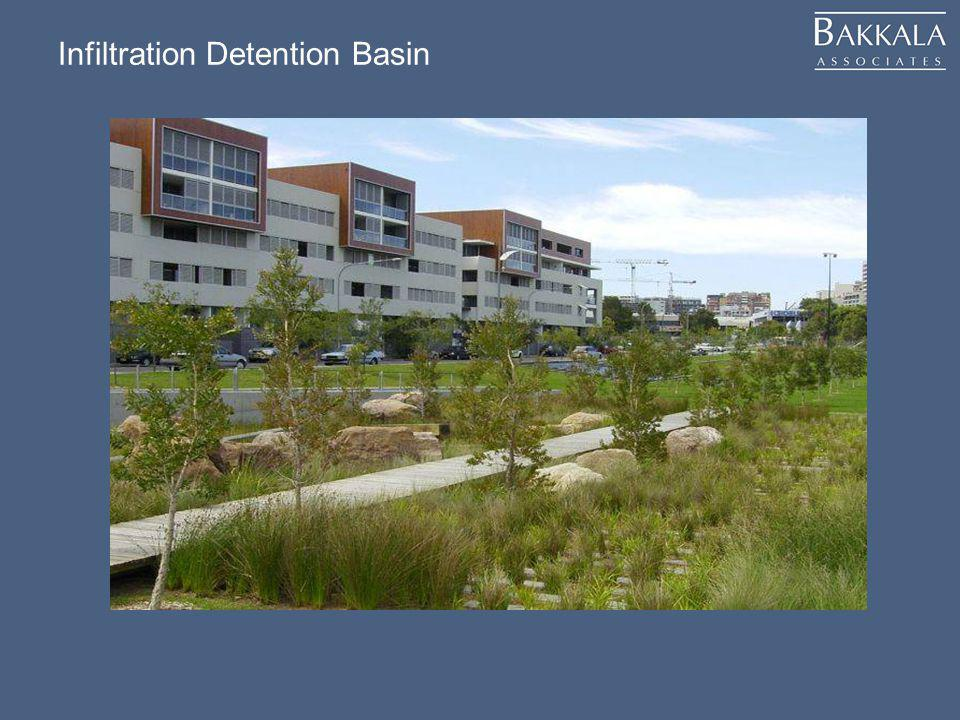 Infiltration Detention Basin