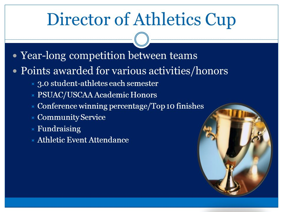 SAAC Student Athletic Advisory Committee Each team will have a representative Coaches or teams can decide Fundraising MUST go through proper channels Talk with Vince or Ryan, then to Chad for approval Roaring Lion fund .