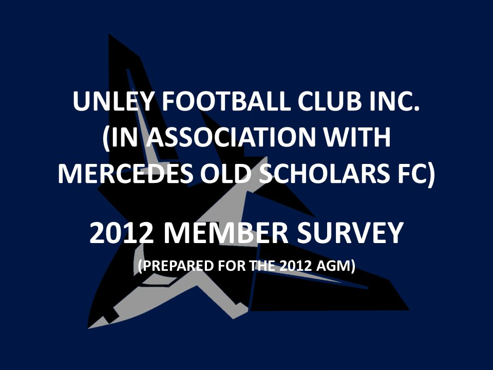 UNLEY FOOTBALL CLUB INC.