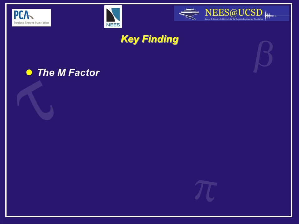 Key Finding The M Factor