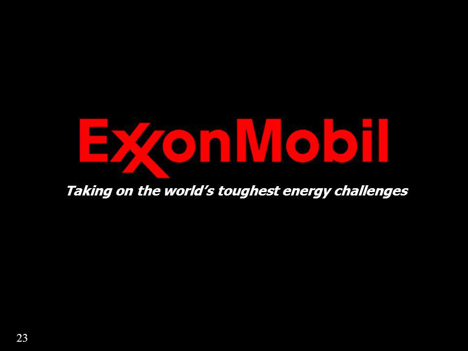 Taking on the worlds toughest energy challenges 23