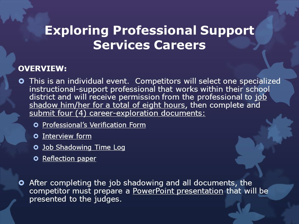 Exploring Education Administration Careers OVERVIEW: This is an individual event.