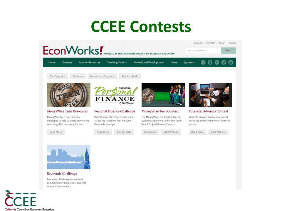 CCEE Contests