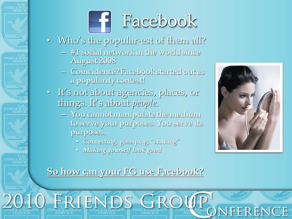FacebookFacebook Whos the popular-est of them all.