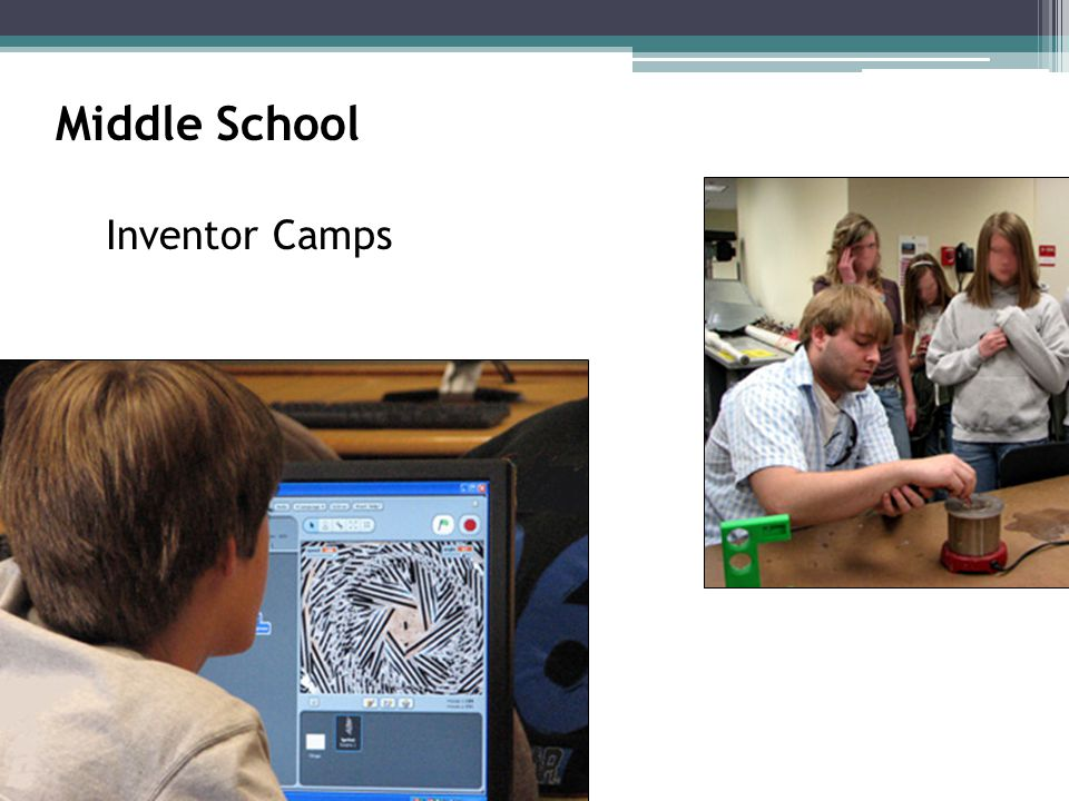Middle School Inventor Camps