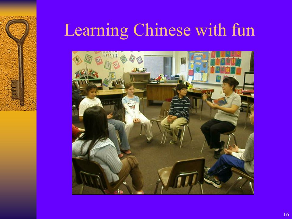 16 Learning Chinese with fun