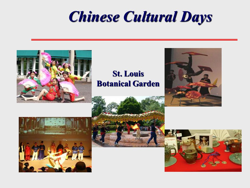 Chinese Cultural Days St. Louis Botanical Garden