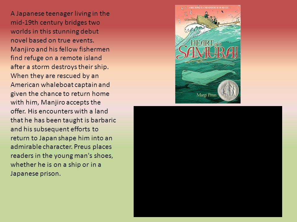 A Japanese teenager living in the mid-19th century bridges two worlds in this stunning debut novel based on true events.