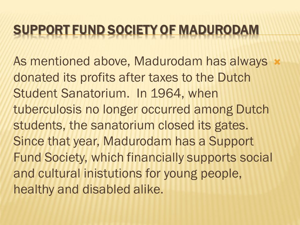 To tie young people to Madurodam, there was decided in 1952 to appoint a Youth City Council.