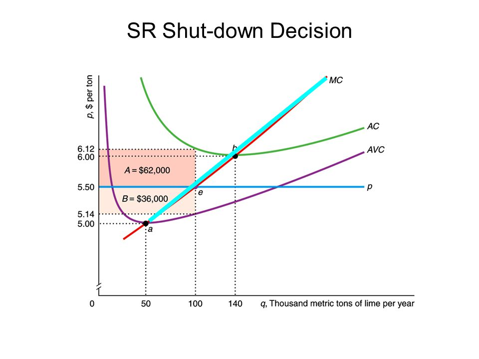 SR Shut-down Decision