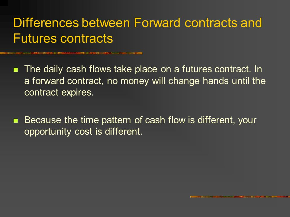 Futures Contract (contd) Quotes are always in American terms.