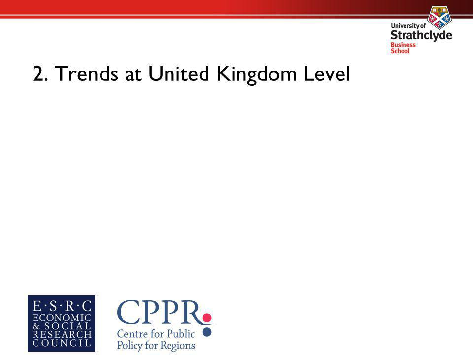 2. Trends at United Kingdom Level