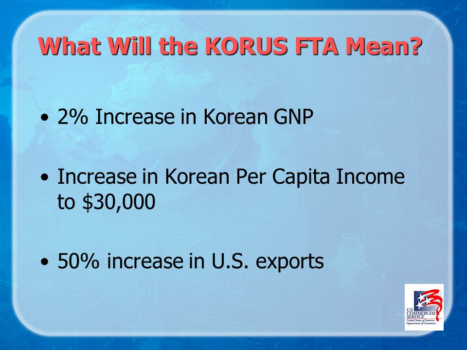What Will the KORUS FTA Mean.