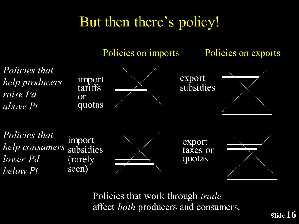 Slide 16 But then theres policy.