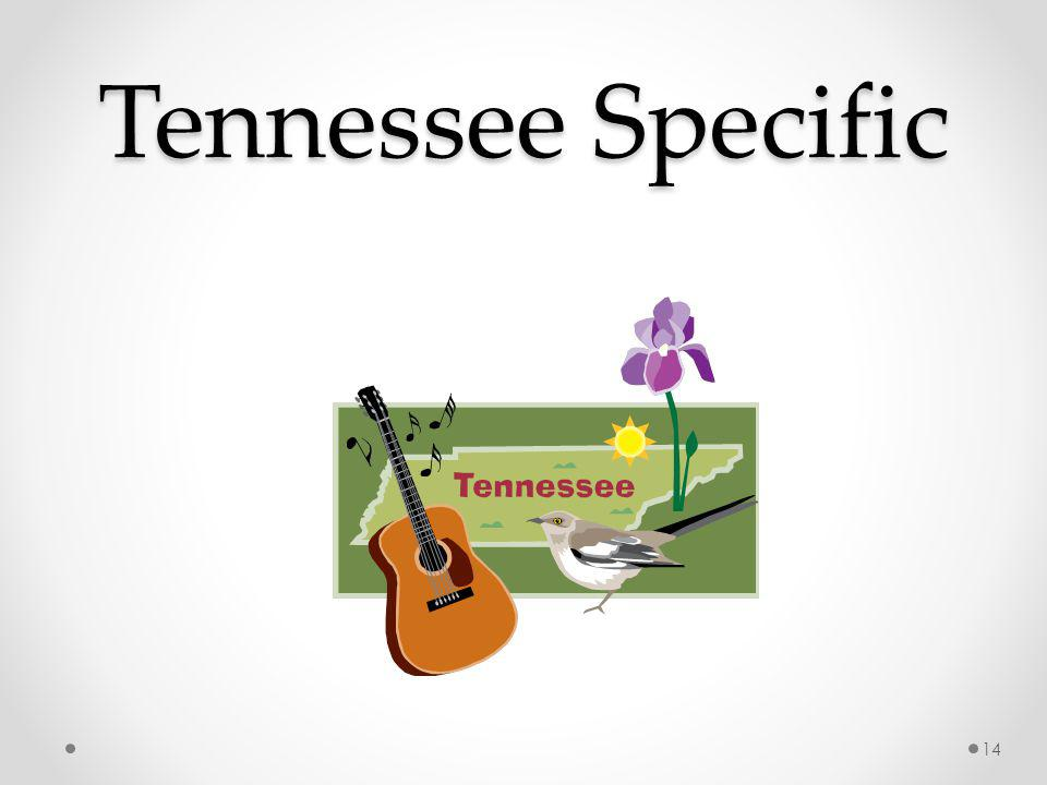 Tennessee Specific 14
