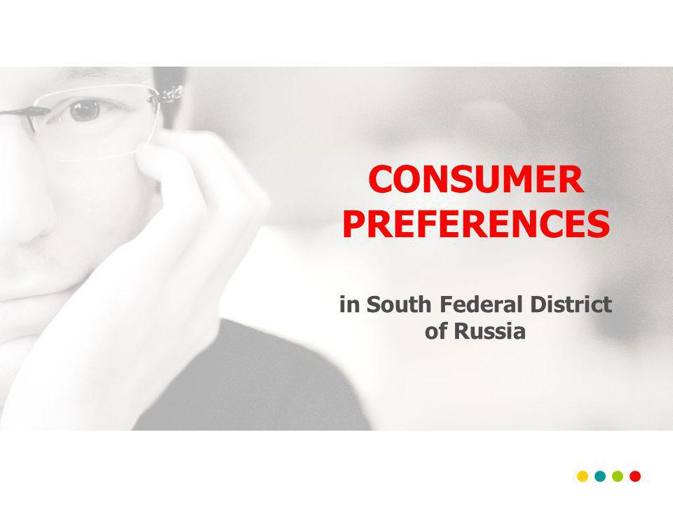 CONSUMER PREFERENCES in South Federal District of Russia