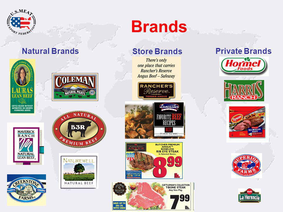 Brands Natural Brands Store Brands Private Brands