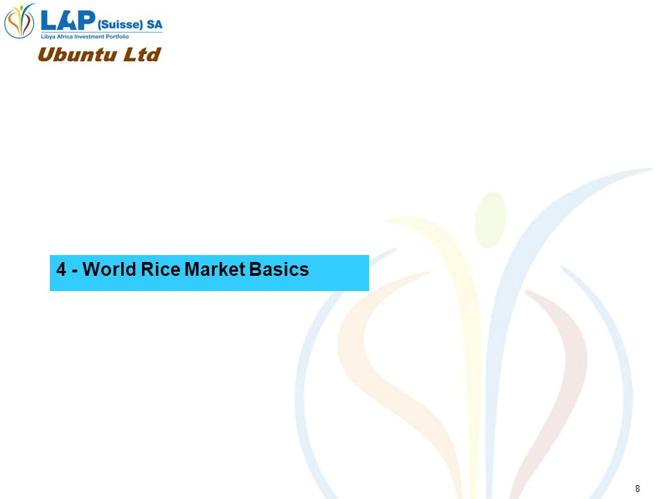 8 4 - World Rice Market Basics