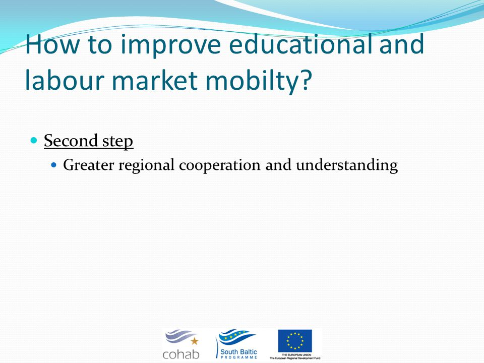 How to improve educational and labour market mobilty.