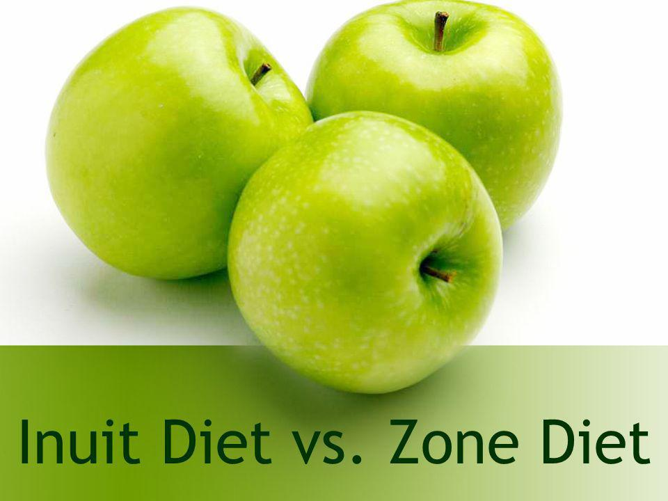 Inuit Diet vs. Zone Diet