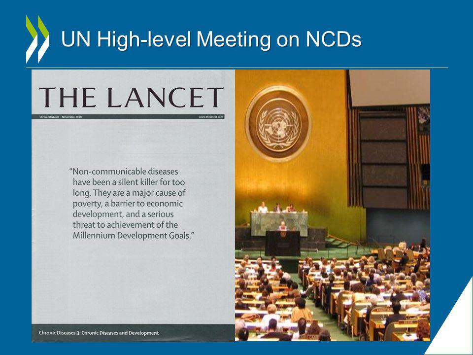 UN High-level Meeting on NCDs
