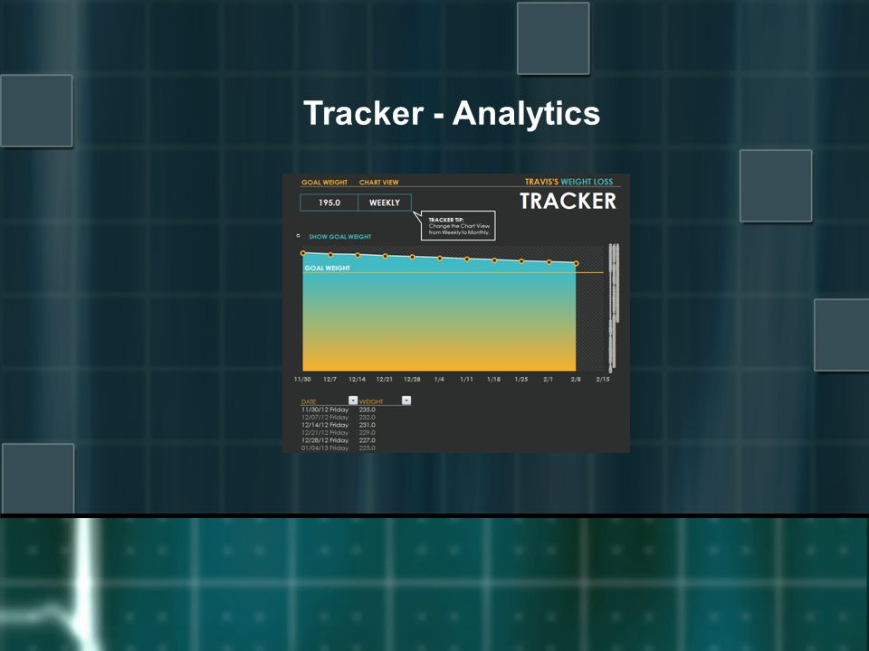Tracker - Analytics