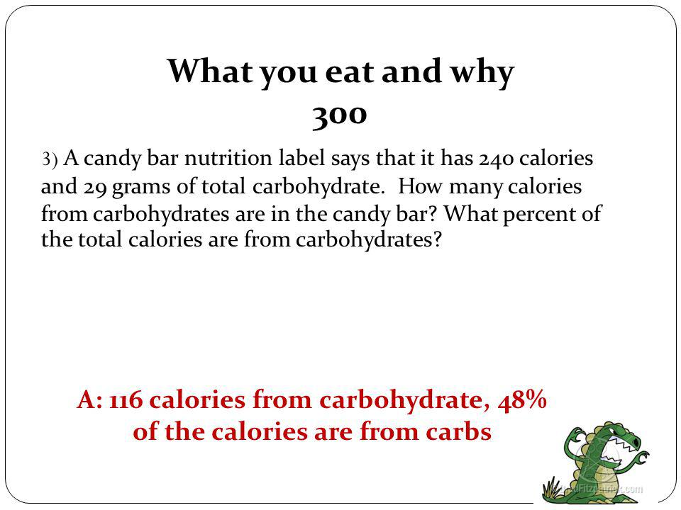 What you eat and why 200 Q: Name the 6 classes of nutrients.