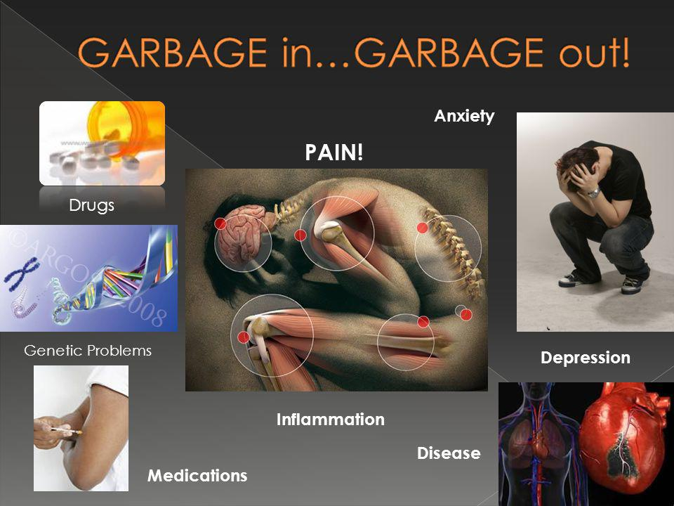 PAIN! Medications Depression Disease Anxiety Drugs Inflammation Genetic Problems