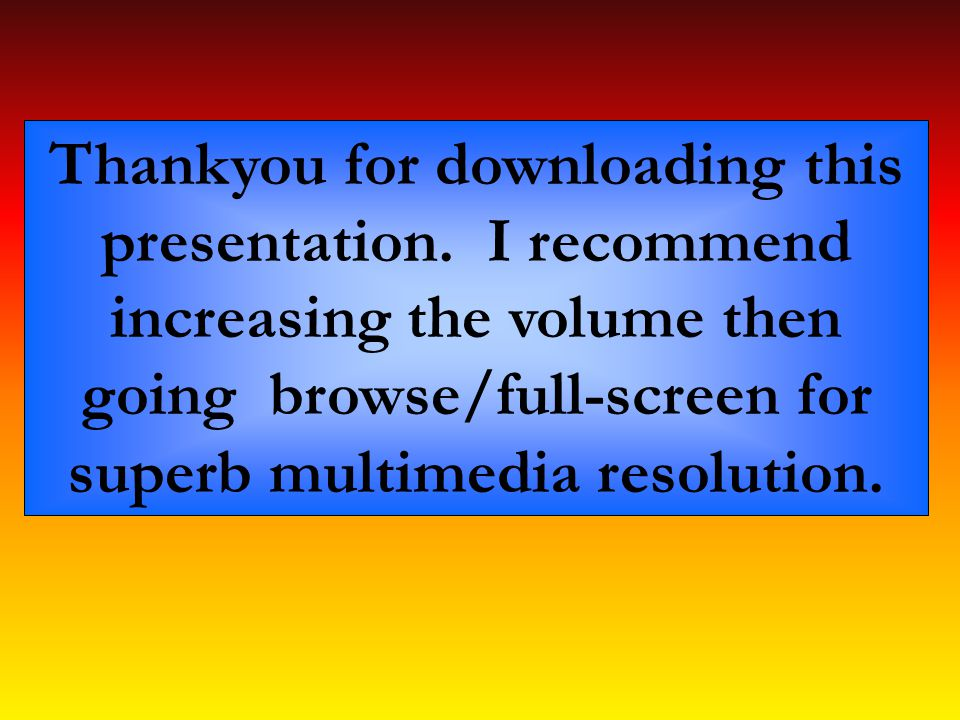 Thankyou for downloading this presentation.