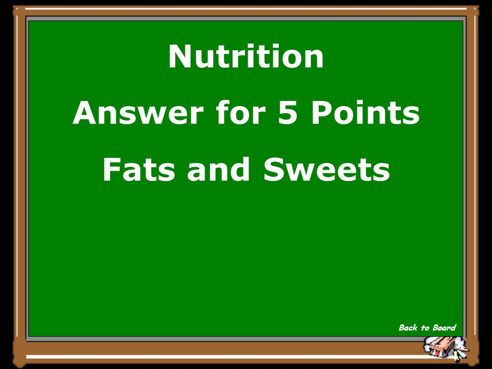 Nutrition Question for 5 Points Eating a balanced diet everyday is important.