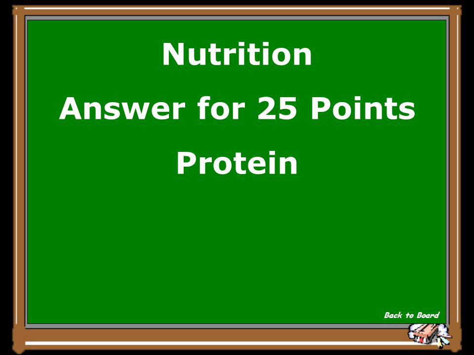 Nutrition Question for 25 Points Which nutrient is the main structural component of the body.
