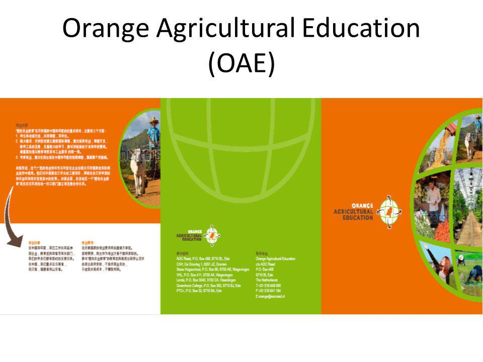 Orange Agricultural Education (OAE)