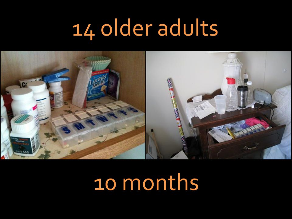 10 months 14 older adults