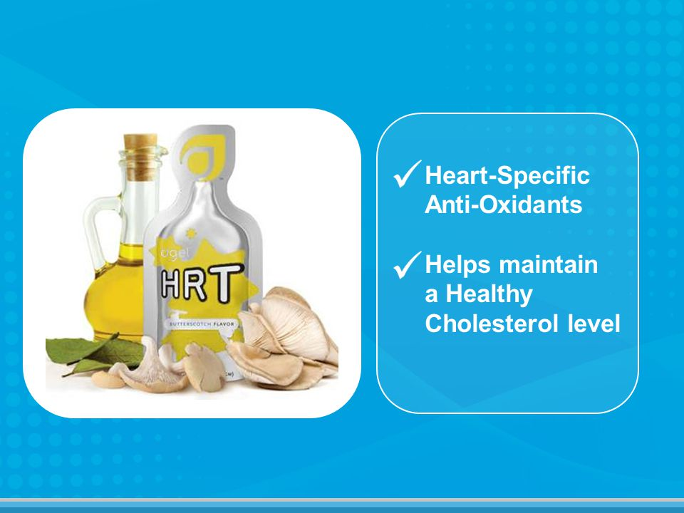 Heart-Specific Anti-Oxidants Helps maintain a Healthy Cholesterol level