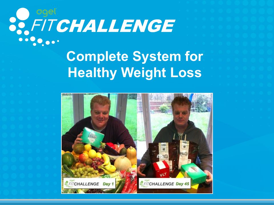 Complete System for Healthy Weight Loss