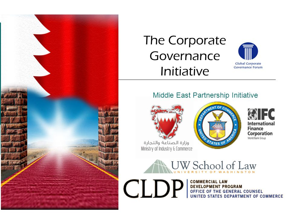 Middle East Partnership Initiative The Corporate Governance Initiative