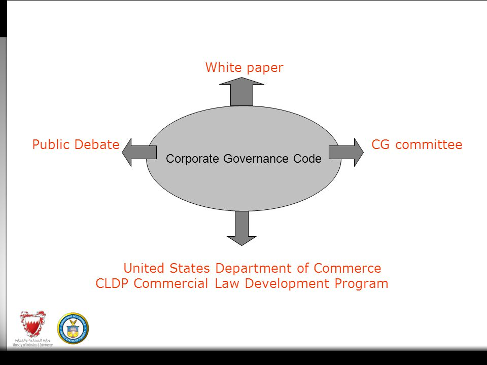White paper Public Debate CG committee United States Department of Commerce CLDP Commercial Law Development Program Corporate Governance Code