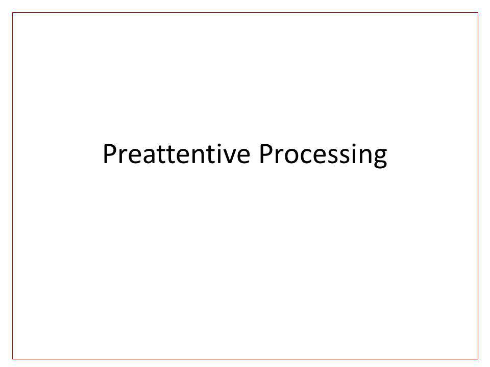 Preattentive Processing