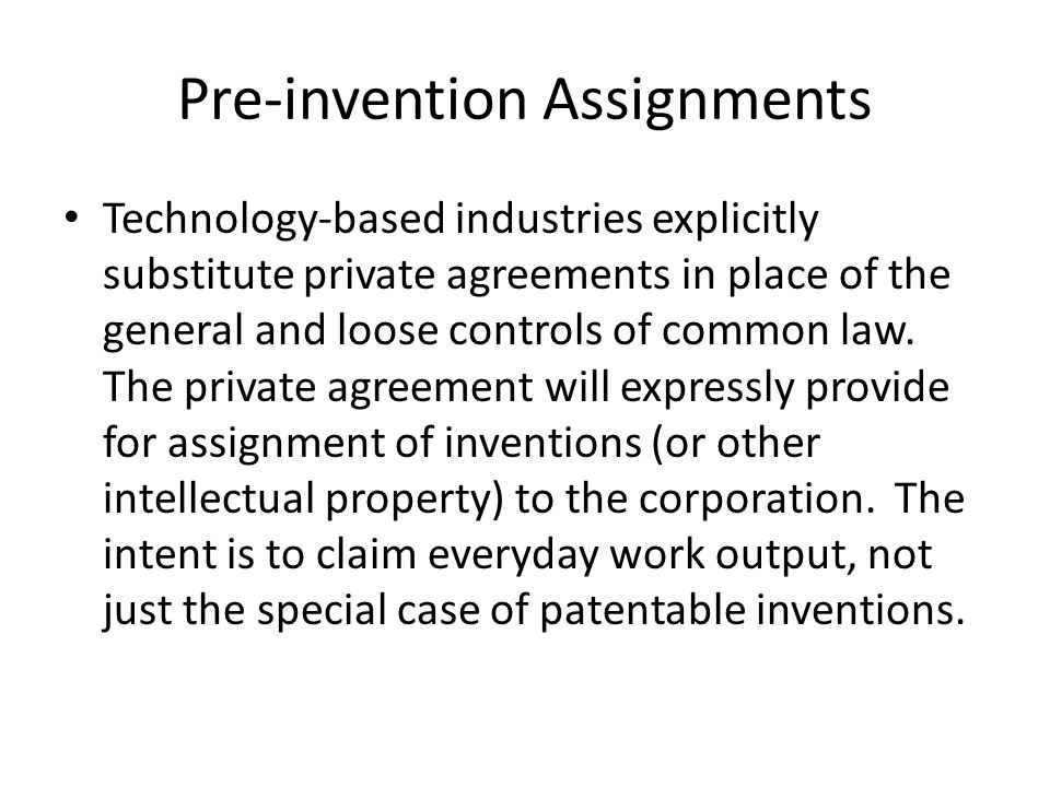 Intellectual Property Traps And Opportunities For Employed Future